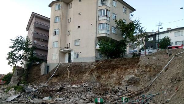 Ankara'da 5 bina tahliye edildi - Sputnik Türkiye