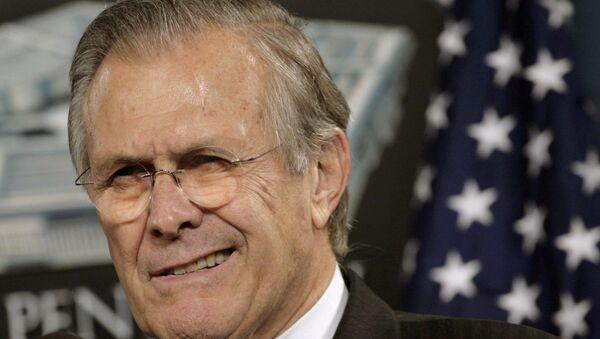 Donald Rumsfeld - Sputnik Türkiye