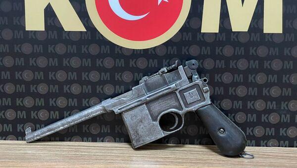 18. yüzyıla ait tabanca - Sputnik Türkiye