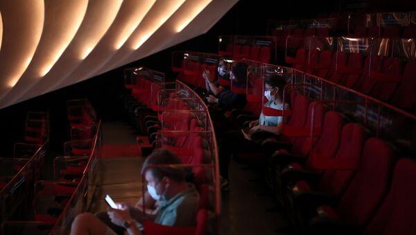 İstanbul, sinema salonu, koronavirüs tedbir - Sputnik Türkiye