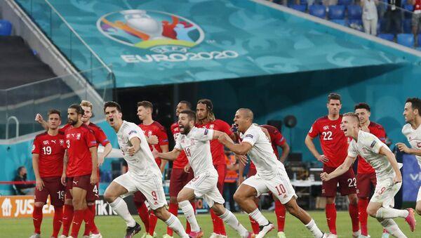 EURO 2020'de İsviçre'yi penaltı atışlarında eleyen İspanya, yarı finale yükseldi - Sputnik Türkiye