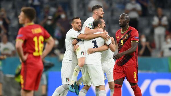 EURO 2020'de ikinci yarı finalist İtalya - Sputnik Türkiye