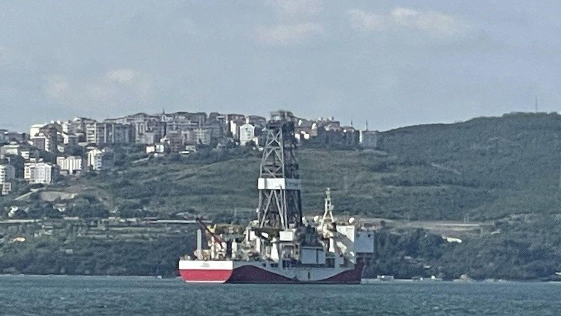 Yavuz sondaj gemisi - Sputnik Türkiye, 1920, 03.07.2021
