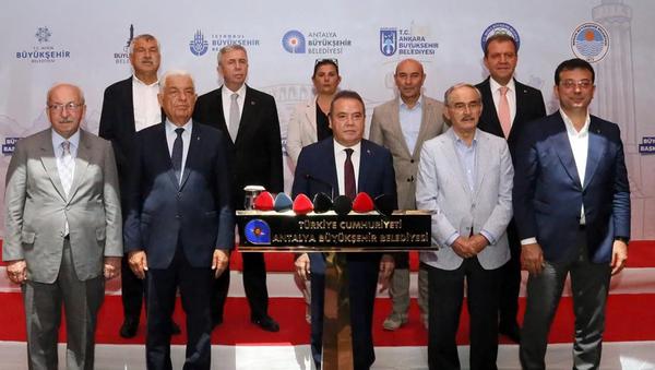 CHP'li belediye başkanlarından Cumhurbaşkanı Erdoğan'la görüşme talebi - Sputnik Türkiye