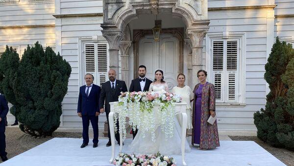 2. Abdülhamid'in torunu İstanbul'da törenle evlendi - Sputnik Türkiye