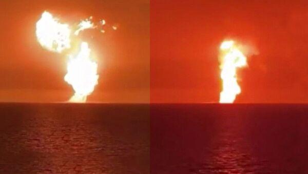 Hazar Denizi patlama - Sputnik Türkiye