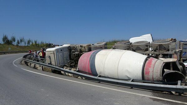 Tuzla - mikser  + beton mikseri - Sputnik Türkiye