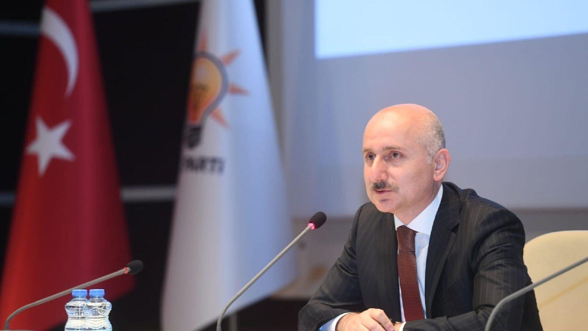 Ulaştırma ve Altyapı BakanıAdil Karaismailoğlu - Sputnik Türkiye, 1920, 05.07.2021