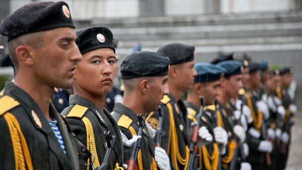 Tacikistan ordusu - Sputnik Türkiye