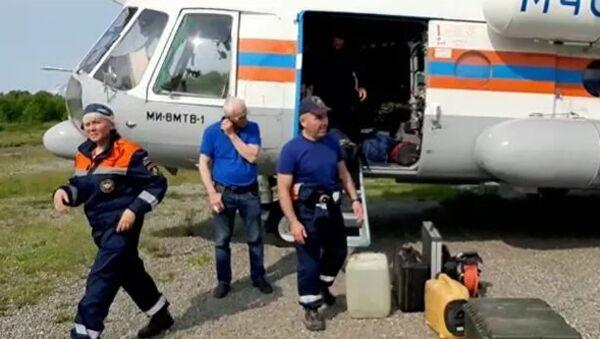 Kamçatka'da düşen Rus yolcu uçağı - Sputnik Türkiye