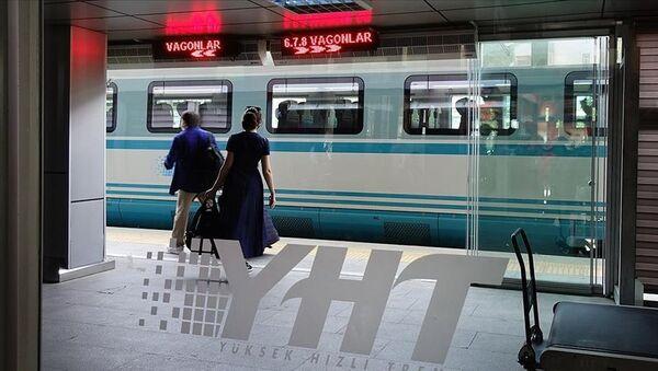YHT Yüksek Hızlı Tren  - Sputnik Türkiye