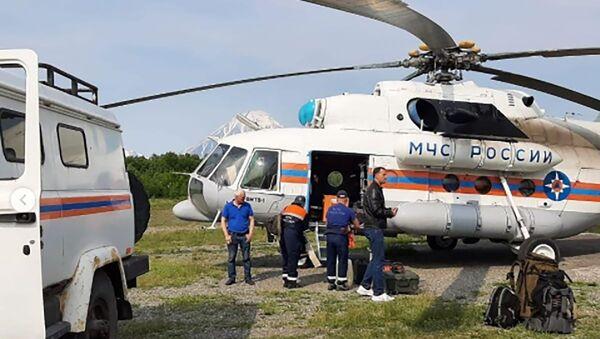 Kamçatka'da uçak kazası - Sputnik Türkiye