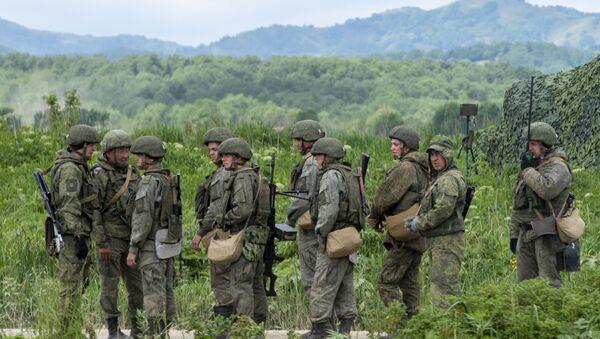 Rus ordusu askeri tatbikat Sahalin Adası - Sputnik Türkiye