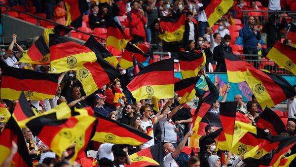Alman taraftarı EURO 2020 - Sputnik Türkiye