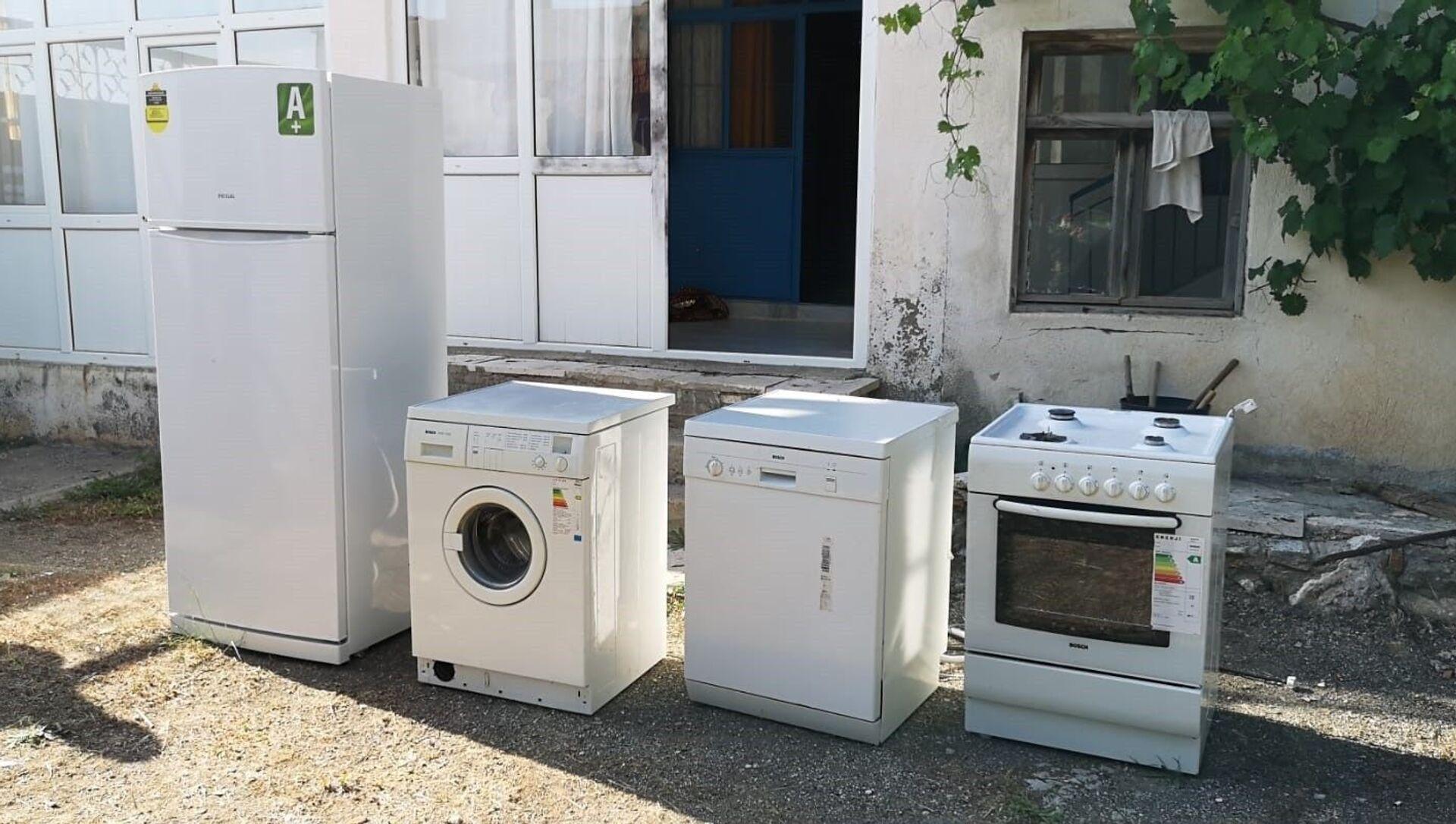 Beyaz eşyalarını çalan hırsız yeğeni çıktı - Sputnik Türkiye, 1920, 06.07.2021