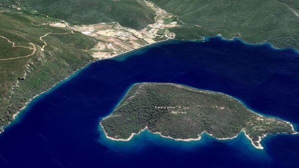 Muğla'da 'krediye uygun' satılık ada - Sputnik Türkiye