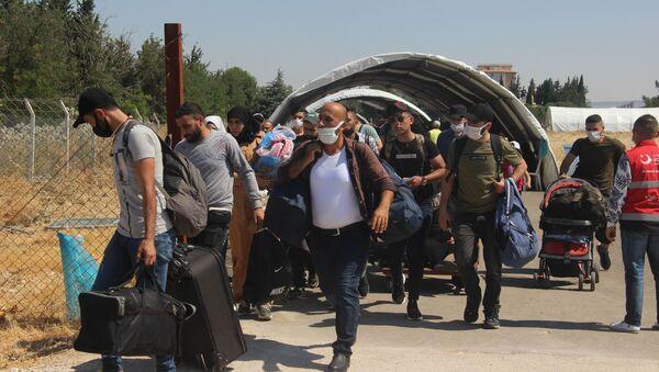 2 bin Suriyeli bayram için ülkesine döndü - Sputnik Türkiye