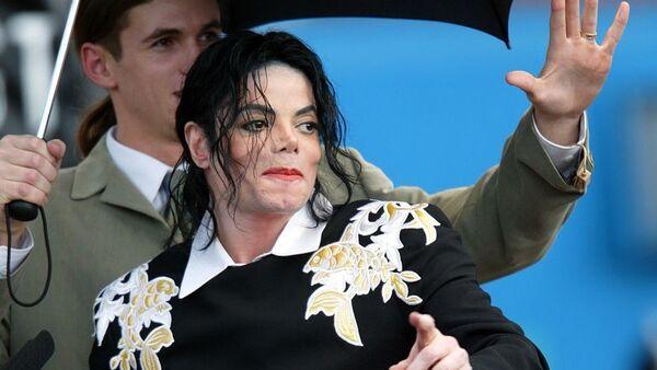 Koruma Matt Fiddes ve Michael Jackson - Sputnik Türkiye