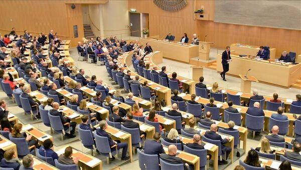 İsveç parlamentosu - Sputnik Türkiye