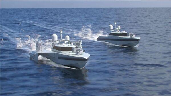 2 yeni insansız deniz aracı geliştiriliyor: Hızları saatte 74 kilometreyi aşacak - Sputnik Türkiye