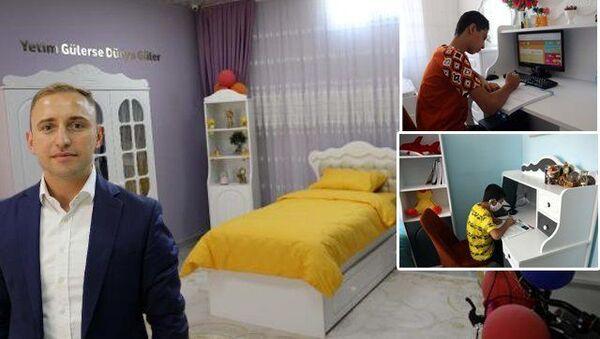 '350 yetim ve öksüz çocuğun özel oda hayali gerçekleştirildi' haberine sosyal medyadan tepki yağdı, valilik açıklama yaptı - Sputnik Türkiye