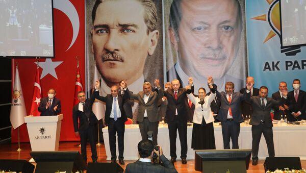 AK Parti Genişletilmiş İl Başkanları Toplantısı - Sputnik Türkiye