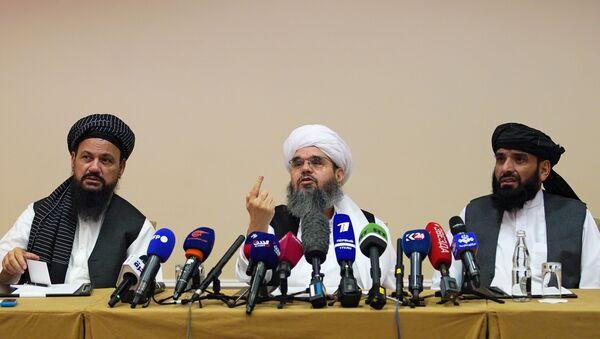 Moskova'daki Taliban heyeti - Sputnik Türkiye