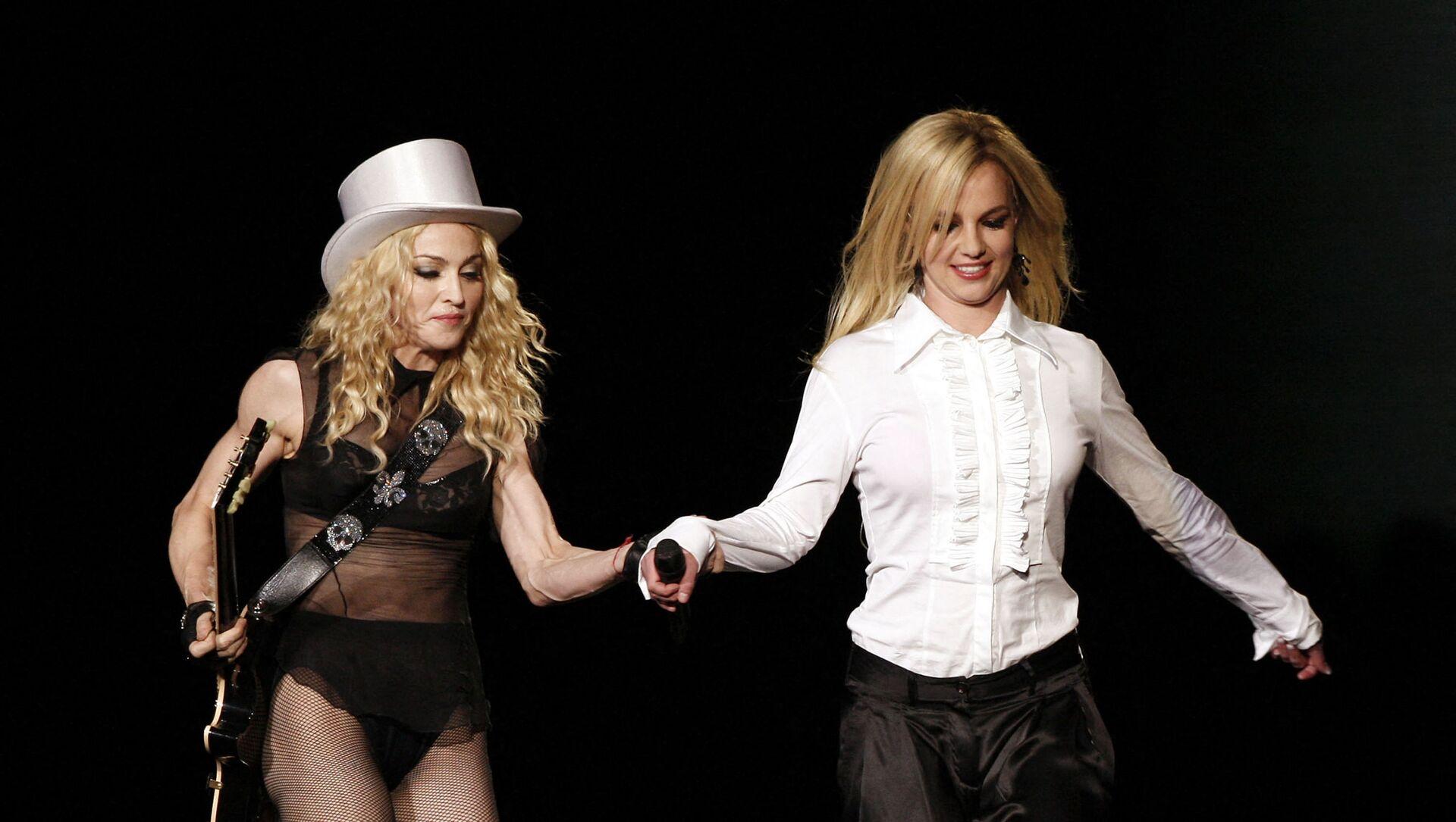 Madonna - Britney Spears - Sputnik Türkiye, 1920, 09.07.2021