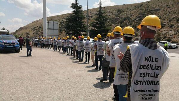 maden işçileri  - Sputnik Türkiye
