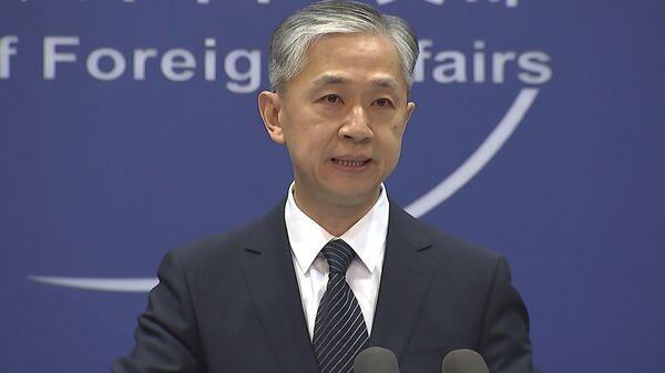 Çin Dışişleri Bakanlığı Sözcüsü Wang Wenbin - Sputnik Türkiye