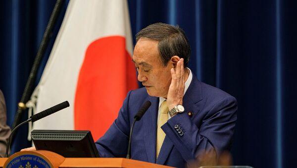 Japonya Başbakanı Suga Yoşihide - Sputnik Türkiye