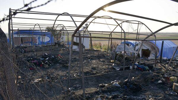 Mevsimlik işçilerin kaldığı 8 çadır yandı - Sputnik Türkiye