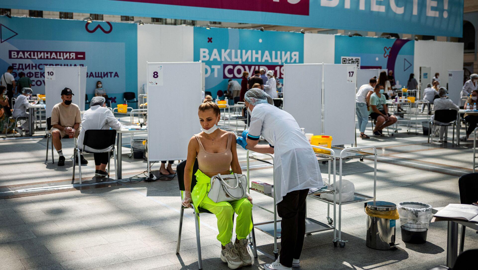 Rusya'da koronavirüs - Sputnik Türkiye, 1920, 01.08.2021