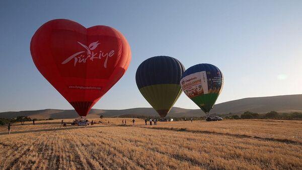 Göbeklitepe'de balon uçuşları - Sputnik Türkiye