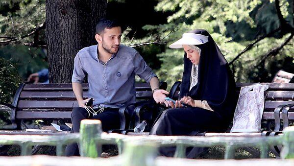İran - kadın  -erkek - Sputnik Türkiye