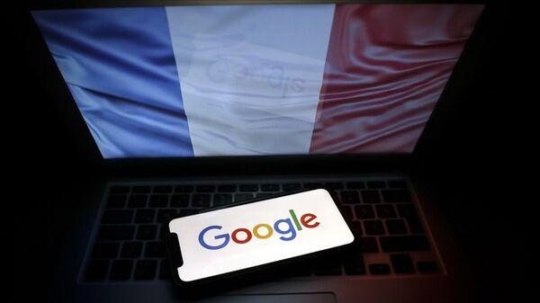 Fransa bayrak - Google - Sputnik Türkiye