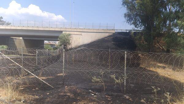 Araç içinden atılan izmarit yangına sebep oldu - Sputnik Türkiye