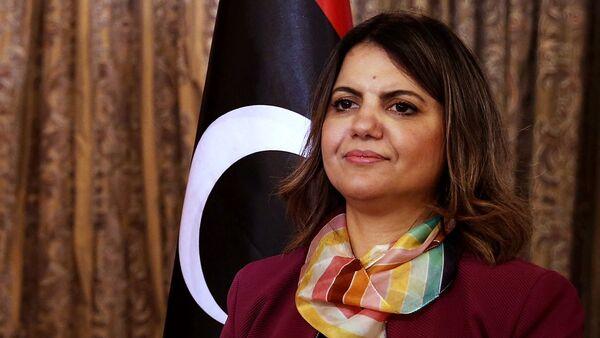 Libya Dışişleri Bakanı Necla Menguş - Sputnik Türkiye