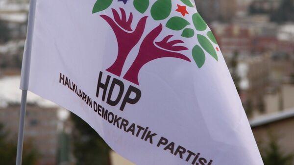 HDP - bayrak - logo - Sputnik Türkiye