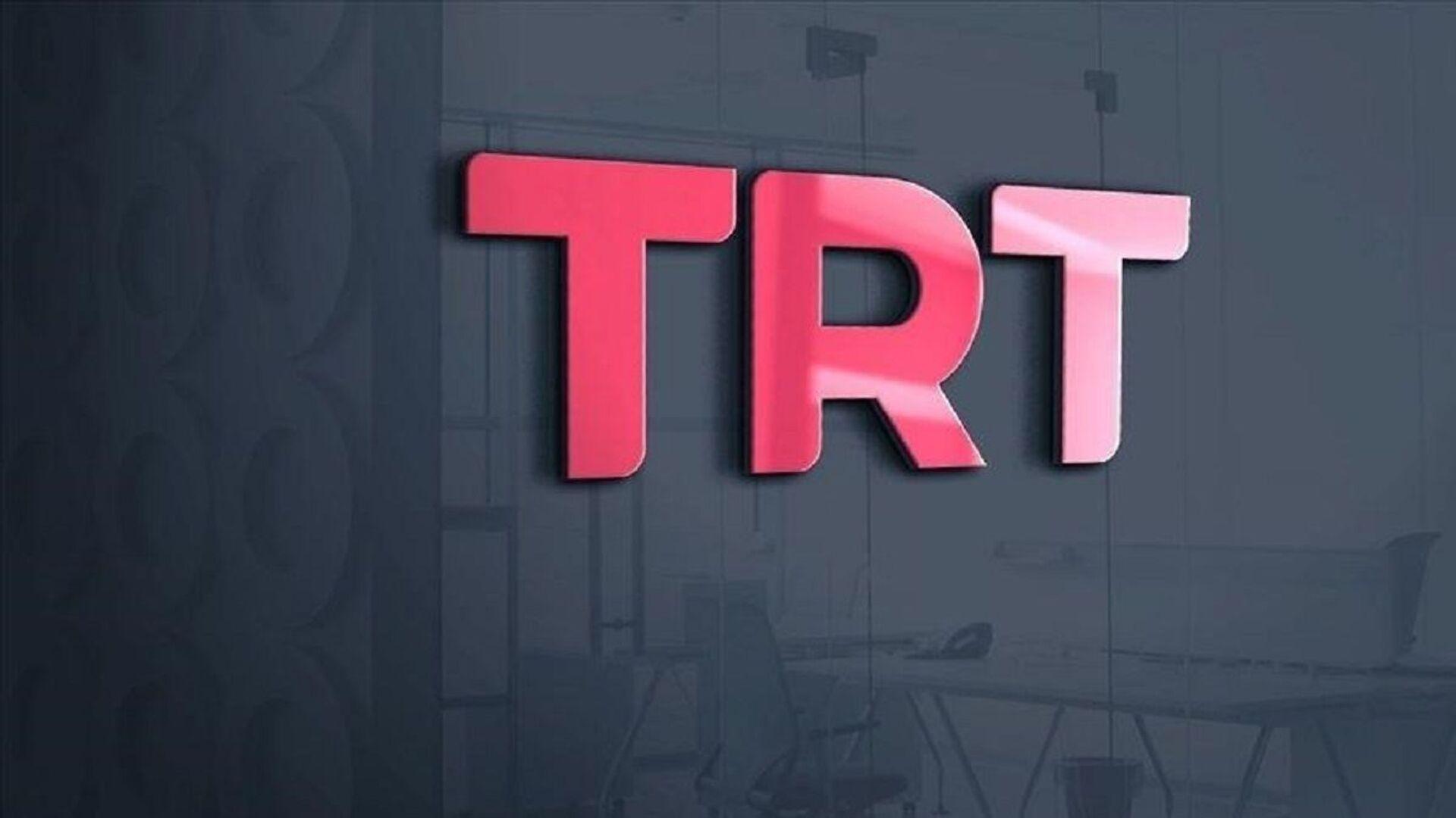 TRT - logo - Sputnik Türkiye, 1920, 27.07.2021