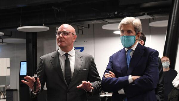 Dmitriy Çernışenko - John Kerry - Sputnik Türkiye
