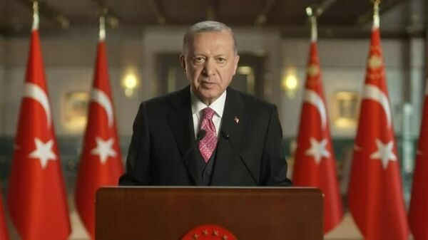 Recep Tayyip Erdoğan - Millete Sesleniş - Sputnik Türkiye