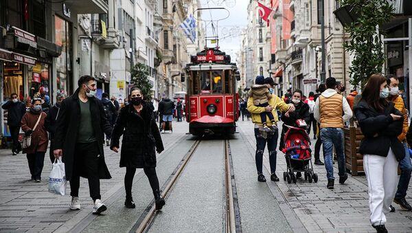Taksim - Beyoğlu - Sputnik Türkiye
