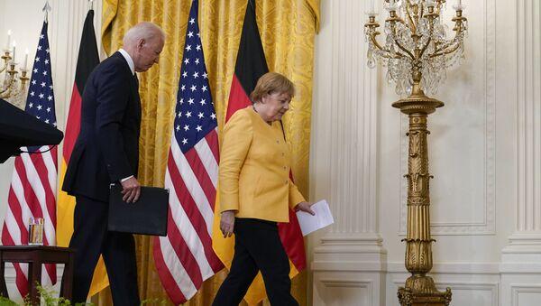 ABD ve Almanya, Washington Deklarasyonu'nu imzaladı - Sputnik Türkiye