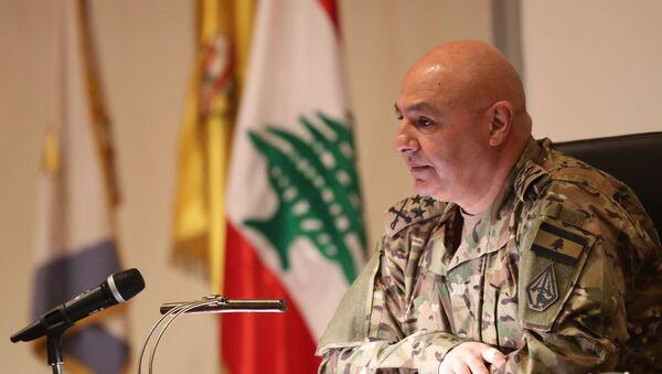 Lübnan Genelkurmay Başkanı Joseph Aun - Sputnik Türkiye