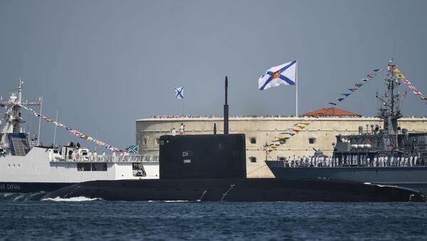 Rusya Karadeniz Filosu - Kolpino denizaltısı - Sputnik Türkiye