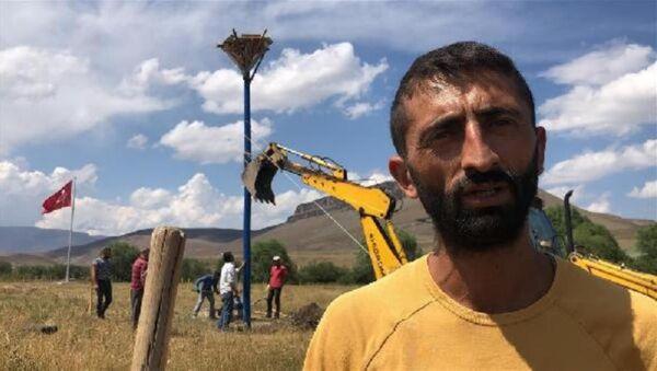 Köyüne orman kuran adam - Sputnik Türkiye