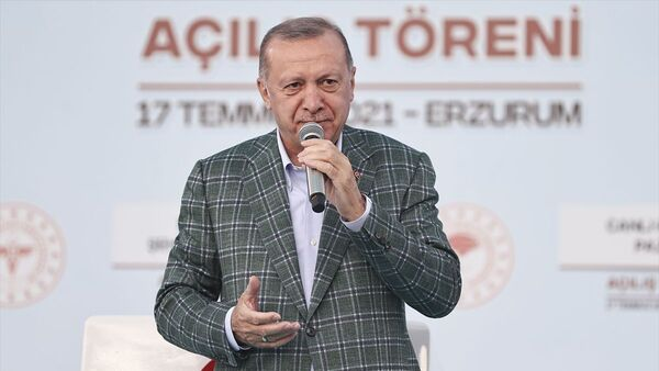 Recep Tayyip Erdoğan - Erzurum - Sputnik Türkiye