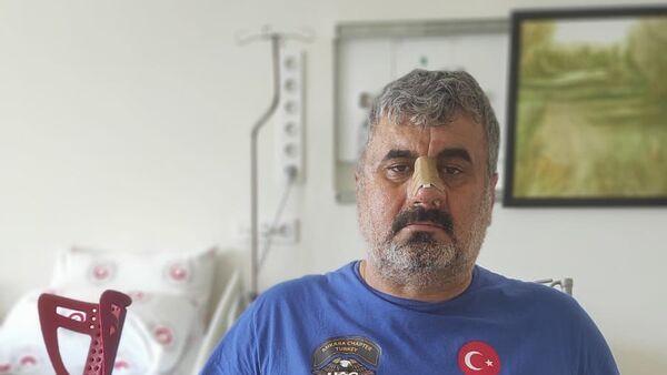 Komşusunun ev sahibi tarafından darp edilen İsmet Gürdal'ın tedavisine hastanede devam ediliyor - Sputnik Türkiye