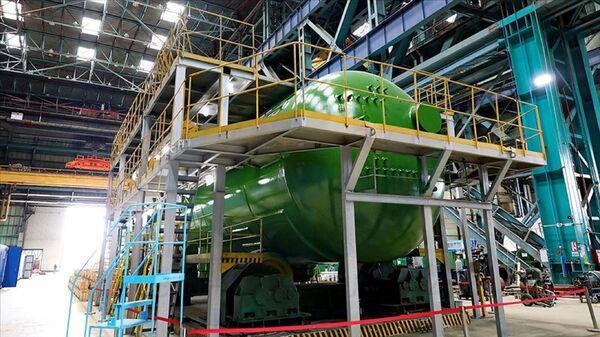 Akkuyu NGS'nin ikinci ünitesinde kullanılacak ilk buhar jeneratörü - Sputnik Türkiye